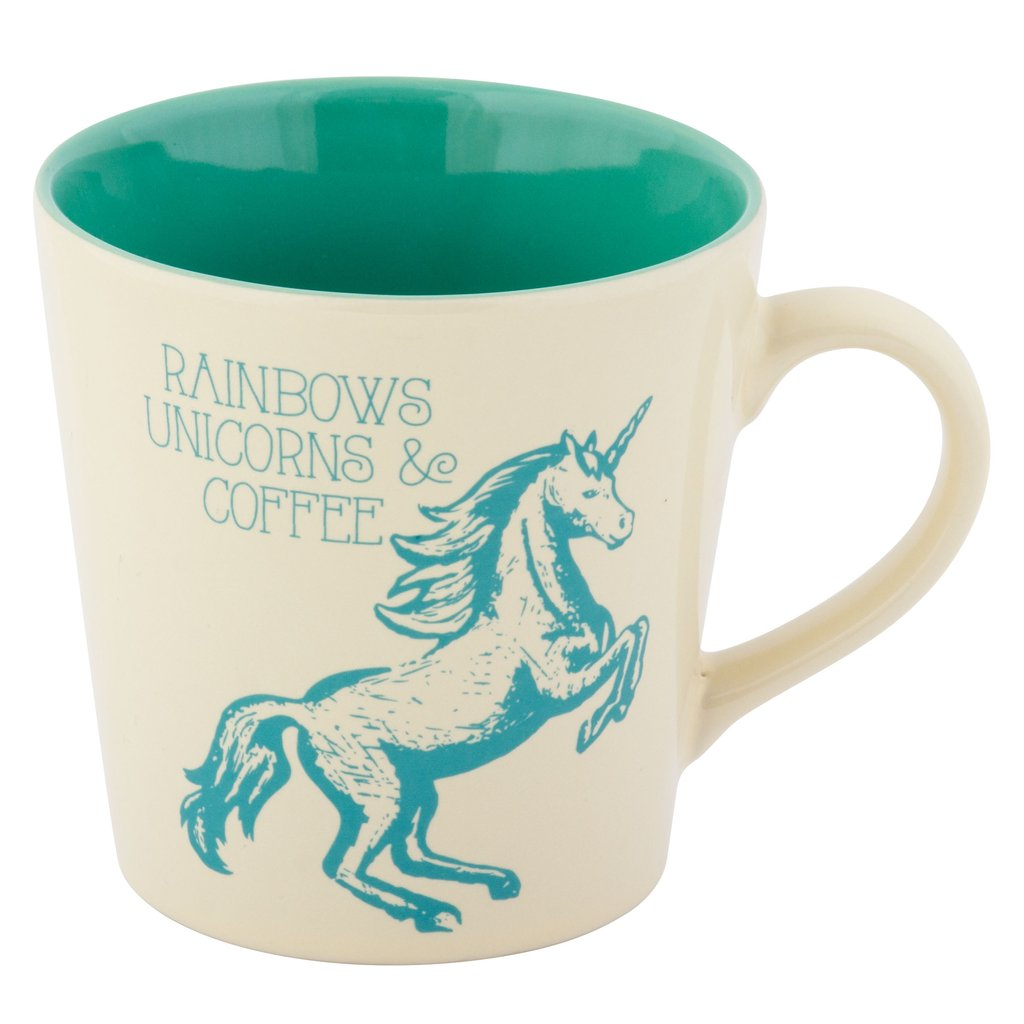 Rainbows, Unicorns, & Coffee Mug