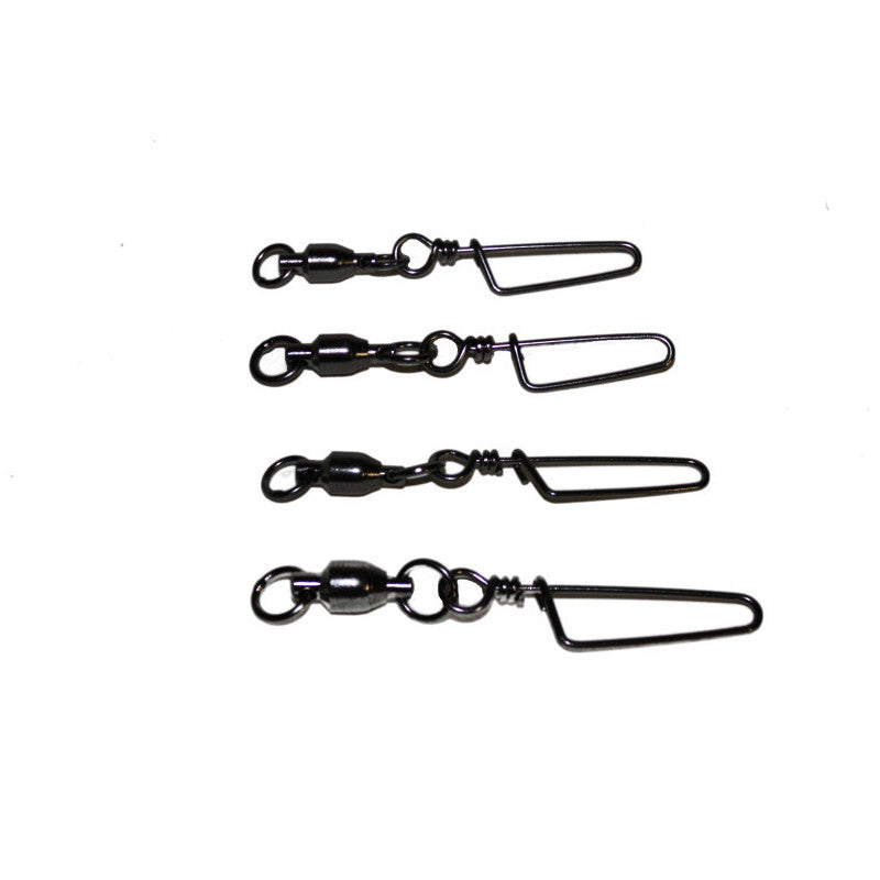 5 COUNT BAGS OF BB SNAP SWIVELS