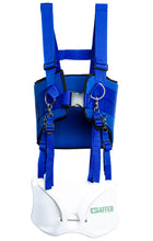Gaffer Sportfishing Fishing Shoulder Harness with Fighting Belt - Offshore Fishing Rod Holder - Blue