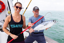 Gaffer Sportfishing 4' Aluminum Gaff with Lanyard and Ergonomic Grip