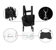 Gaffer Sportfishing Fishing Shoulder Harness with Fighting Belt - Offshore Fishing Rod Holder - Black