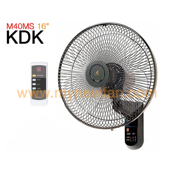 KDK M40MS Wall Fan
