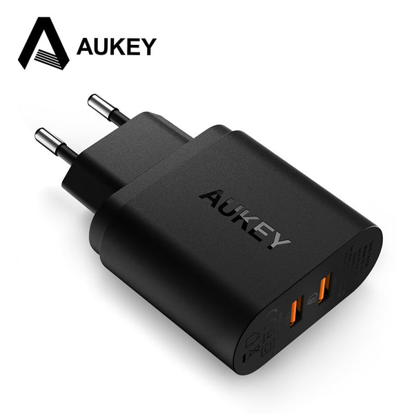 AUKEY 36W Dual USB Port Charger