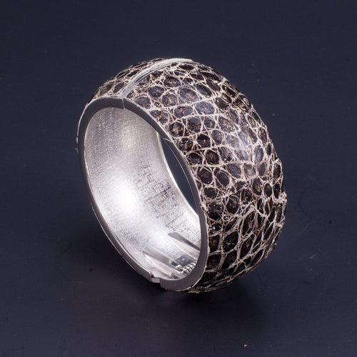 Python Leather Ladies Bangle