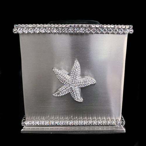 Starfish Tissue Box Featuring Swarovski © Crystals