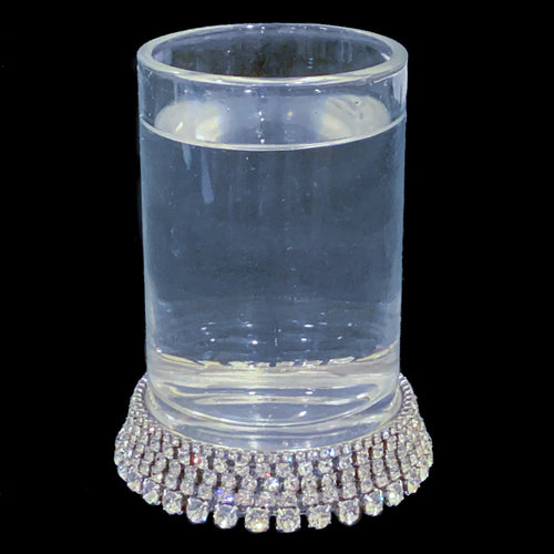 Tumbler Glass Featuring Swarovski ® Crystals