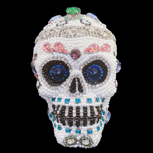 Small Sugar Skull Featuring Swarovski ® Crystals