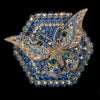 Sapphire Butterfly Hexagon Box Featuring Swarovski © Crystals