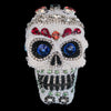 Small Multi-Color Sugar Skull Featuring  Swarovski © Crystal