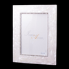 4 x 6 Mother of Pearl Picture Frame Featuring Swarovski ® Crystal
