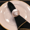 Pearl Turbo Seashell Napkin Rings | Set of 4