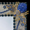 8 x 10 Montana Blue Crystallized Bug Picture Frame Featuring Swarovski © Crystal
