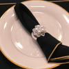 5-Pearl Napkin Rings Featuring Swarovski © Crystals | Set of 4