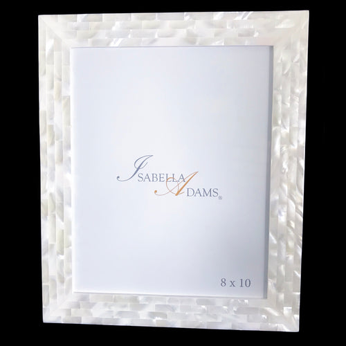 8 x 10 Classic Mother of Pearl Picture Frame