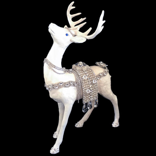 Mother of Pearl Swarovski © Crystallized Reindeer | Standing