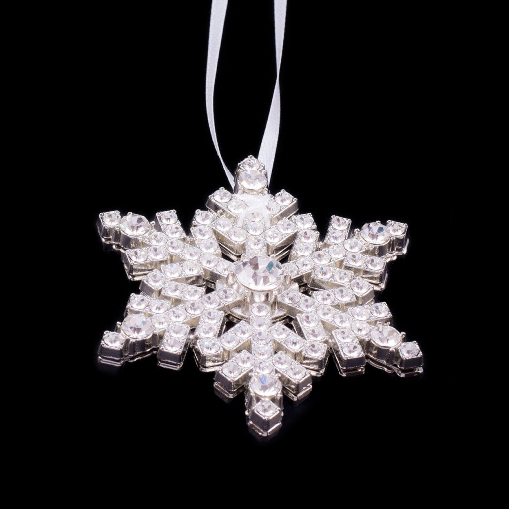 Snowflake Ornament with Swarovski © Crystals