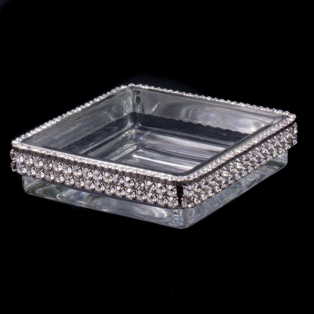 Soap Dish Featuring Swarovski © Crystals