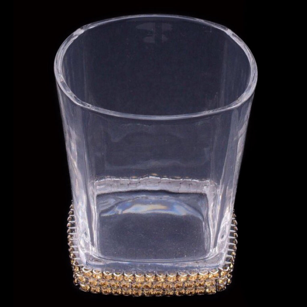 Drink Glass Featuring Swarovski © Crystals