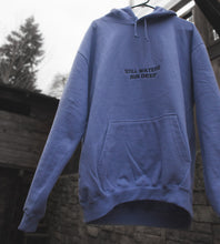 """Still Waters"" Lavender Embroidered Hoodie"