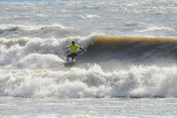 The Wyldewood Gales Surf contest on Lake Erie