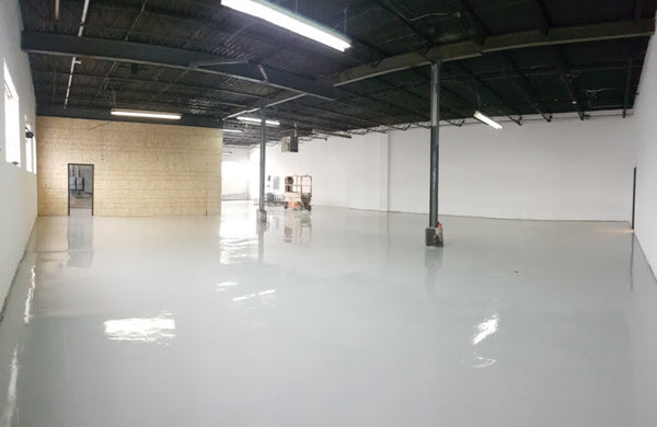 We had about 5000 square feet to fill.