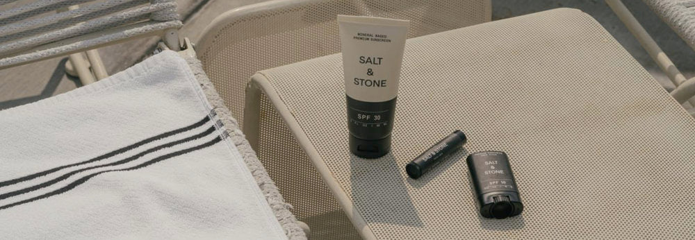 Salt and Stone sunscreen products