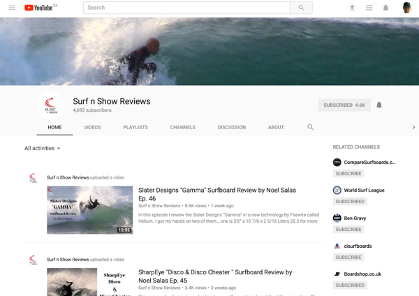 Surf n Show Reviews