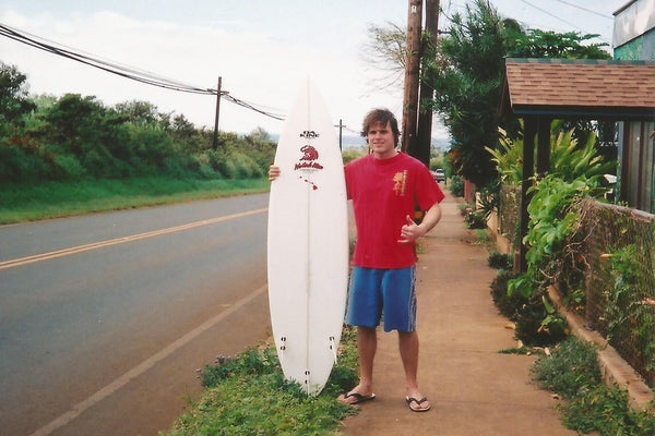 mike sandusky watah man surfboards maui paia