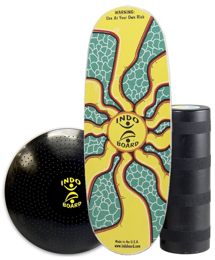 Indo Board Pro Sunburst - (DECK, ROLLER, CUSHION)