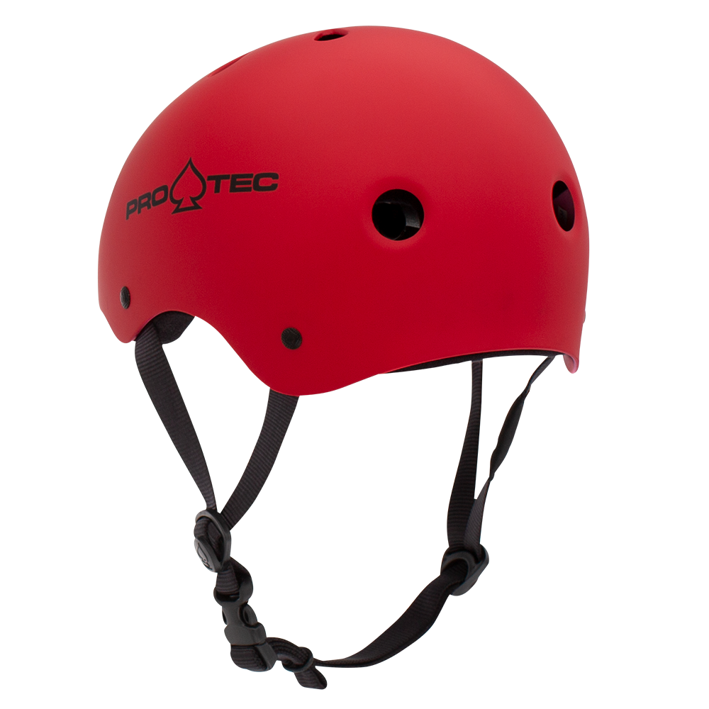 Protective Gear (Skate) - Pro-tec Helmet - CLASSIC SKATE - MATTE RED