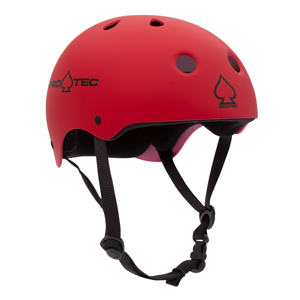 Protective Gear - Pro-tec Helmet - CLASSIC SKATE - MATTE RED