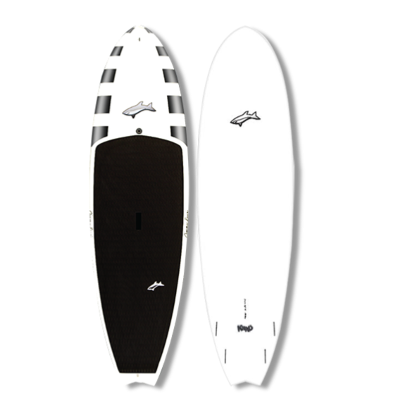 Jimmy Lewis Kwad  9'1  - White - Surf Ontario