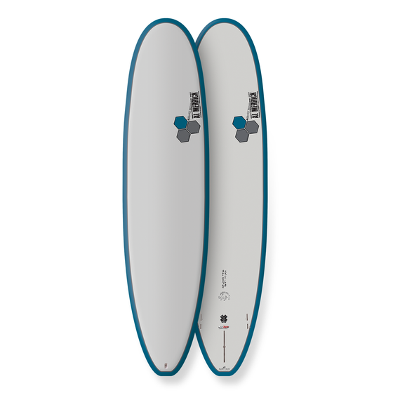 Channel Islands Water Hog 7'2 - LT blue - Tuflite - FCSII