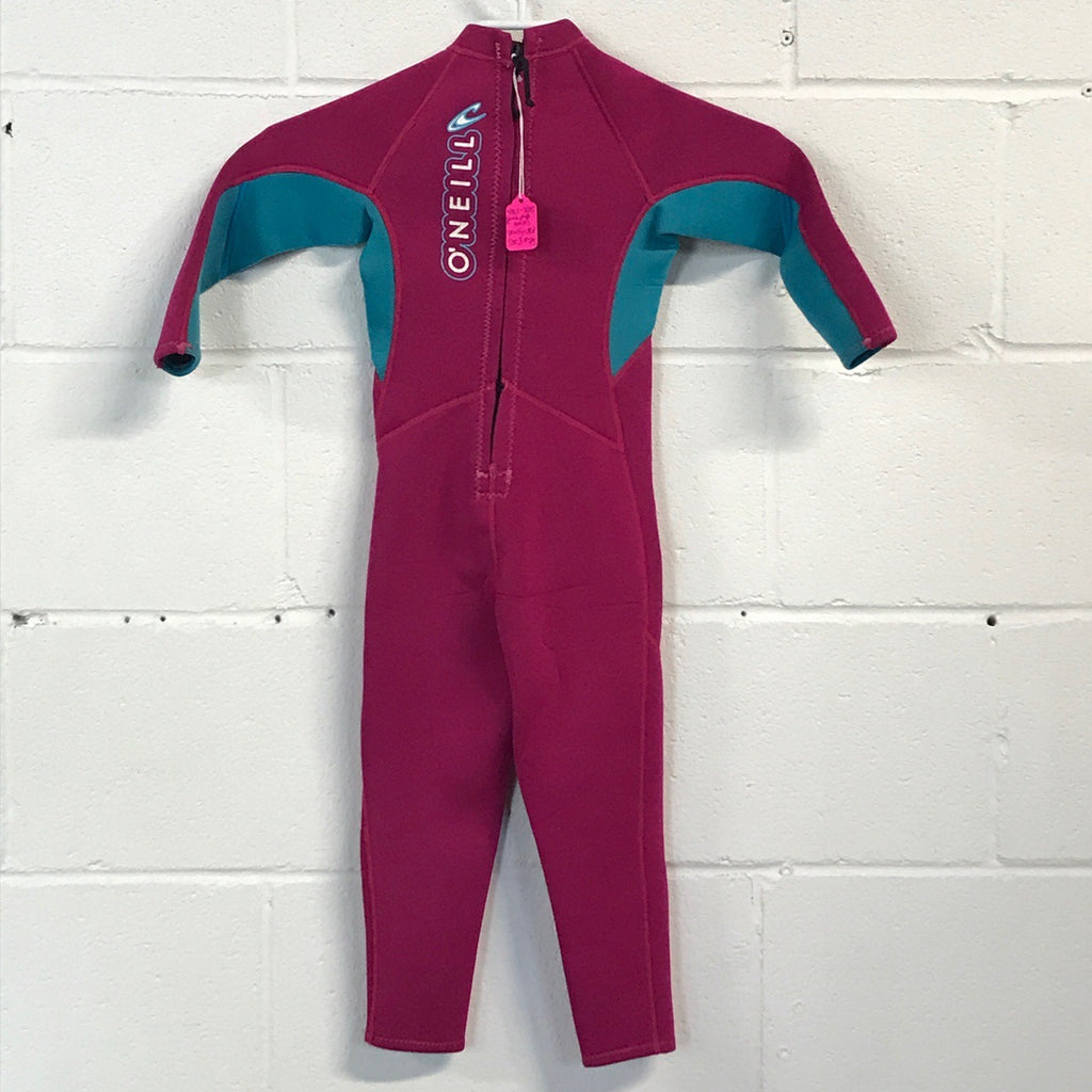 2mm O'Neill Toddler Full suit  - Size 3 - USED*