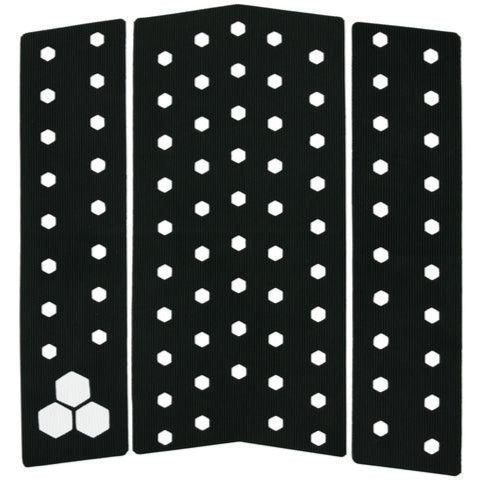 Deck pads - Channel Islands - 3 PIECE FRONT PAD - Black
