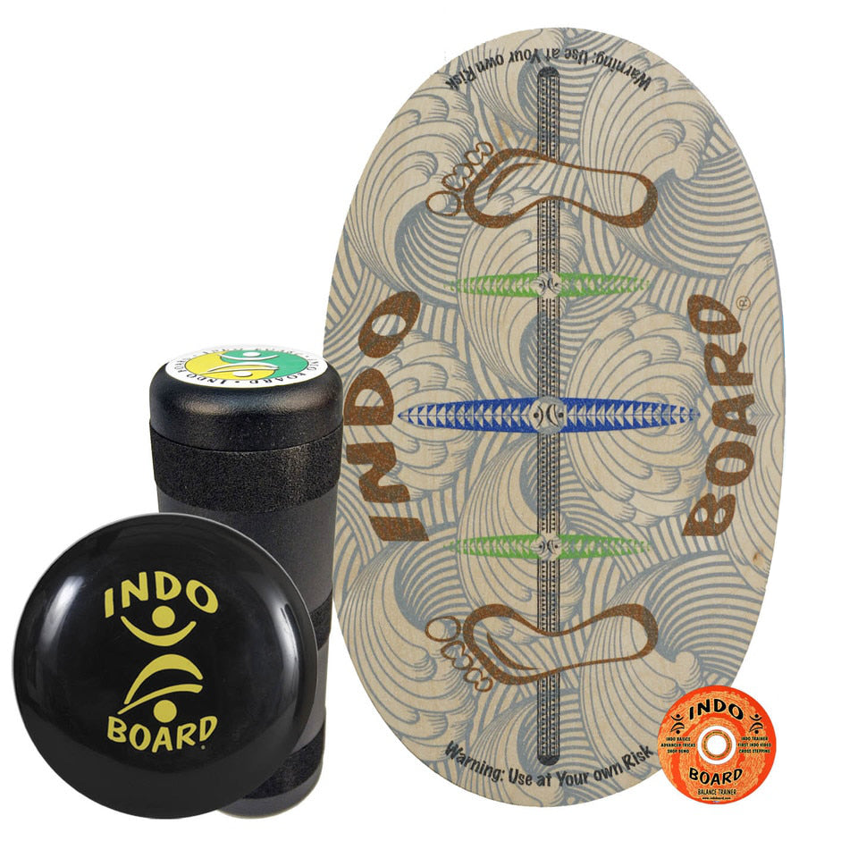 Indo Board Original - Barefoot - (DECK, ROLLER, CUSHION)