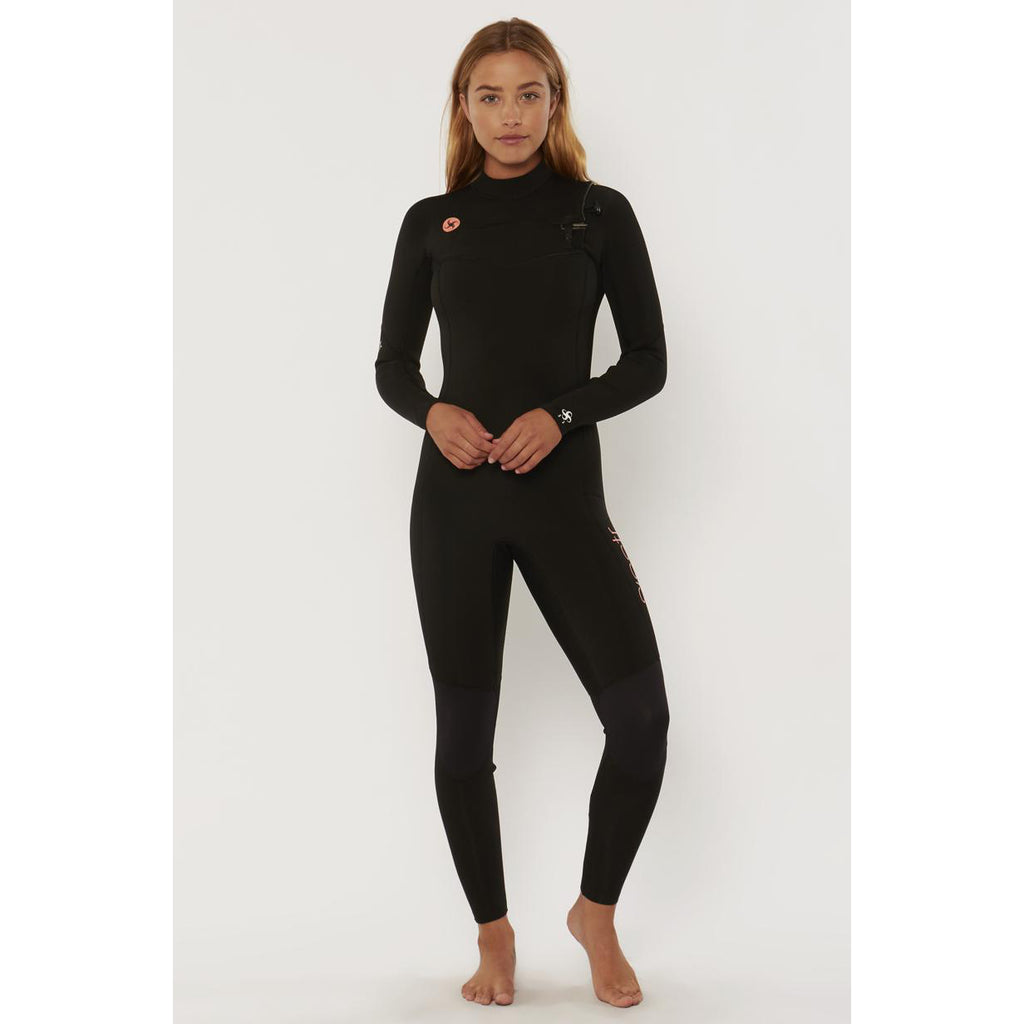 3/2mm SisstrEvolution 7 SEAS 3/2 CHEST ZIP - BLK/Black