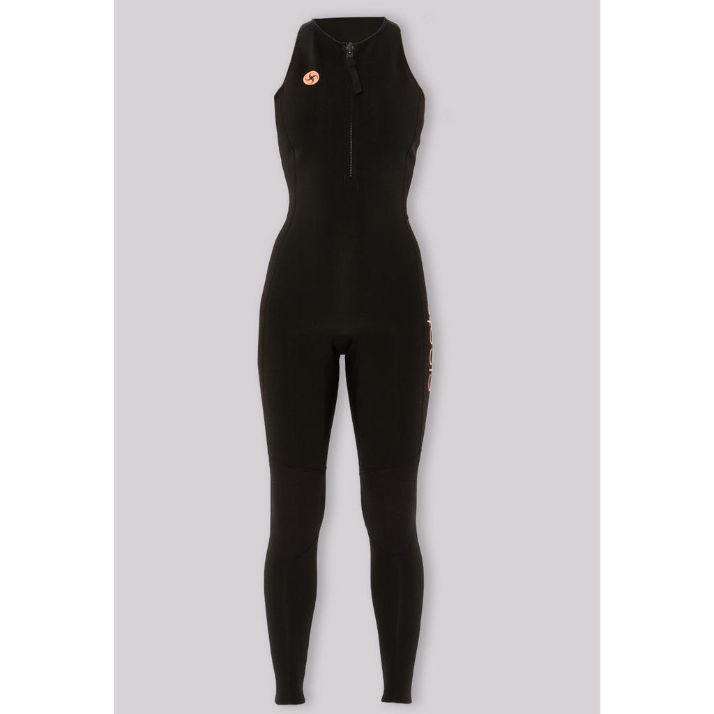 2/2mm SisstrEvolution 7 Seas 2/2 Long Jane front zip - Blk - Surf Ontario
