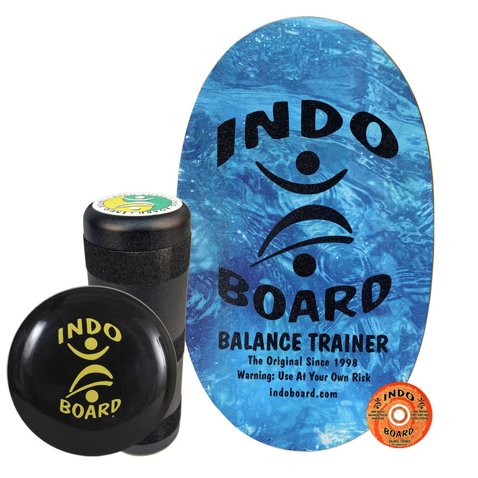 Indo Board Original w/Roller - Sparkling Water - (DECK, ROLLER, CUSHION)