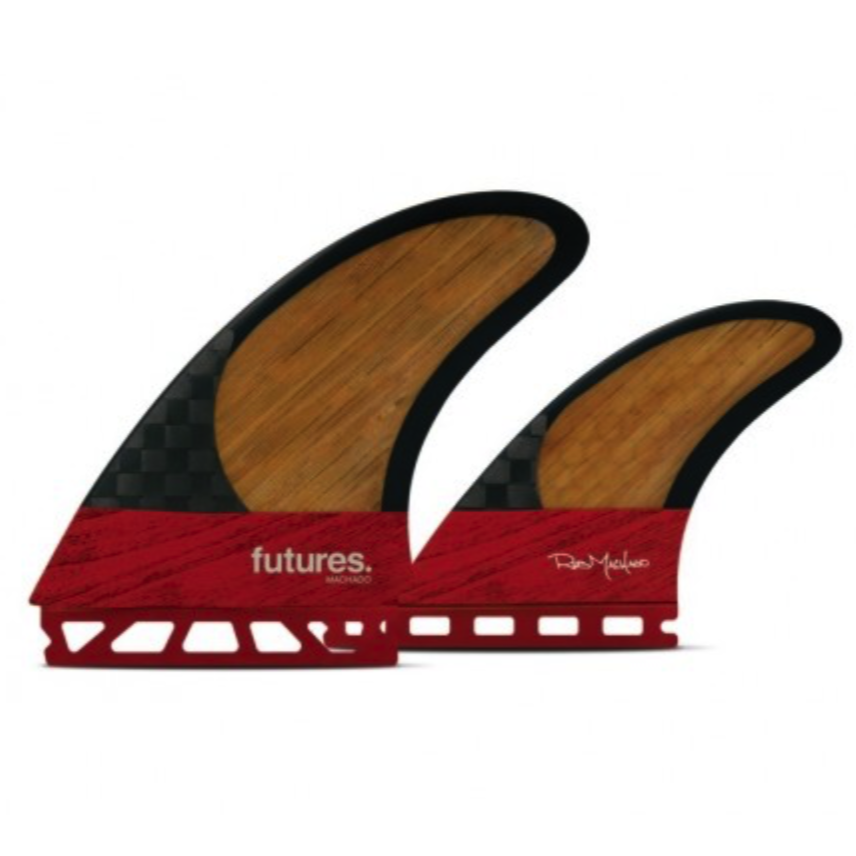 Futures Machado Twin +1 Blackstix Fin