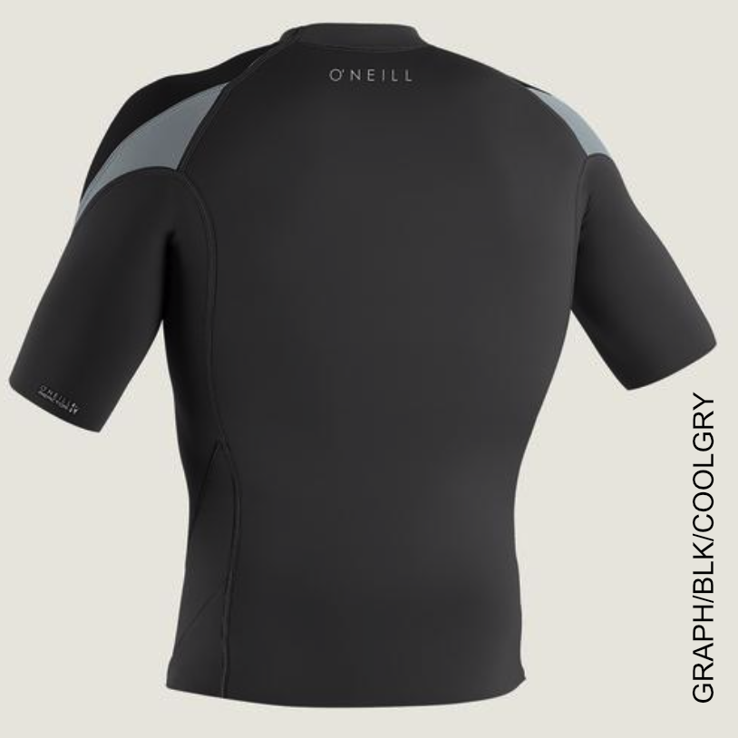 1/5mm Mens O'Neill REACTOR-2 S/S TOP - Surf Ontario