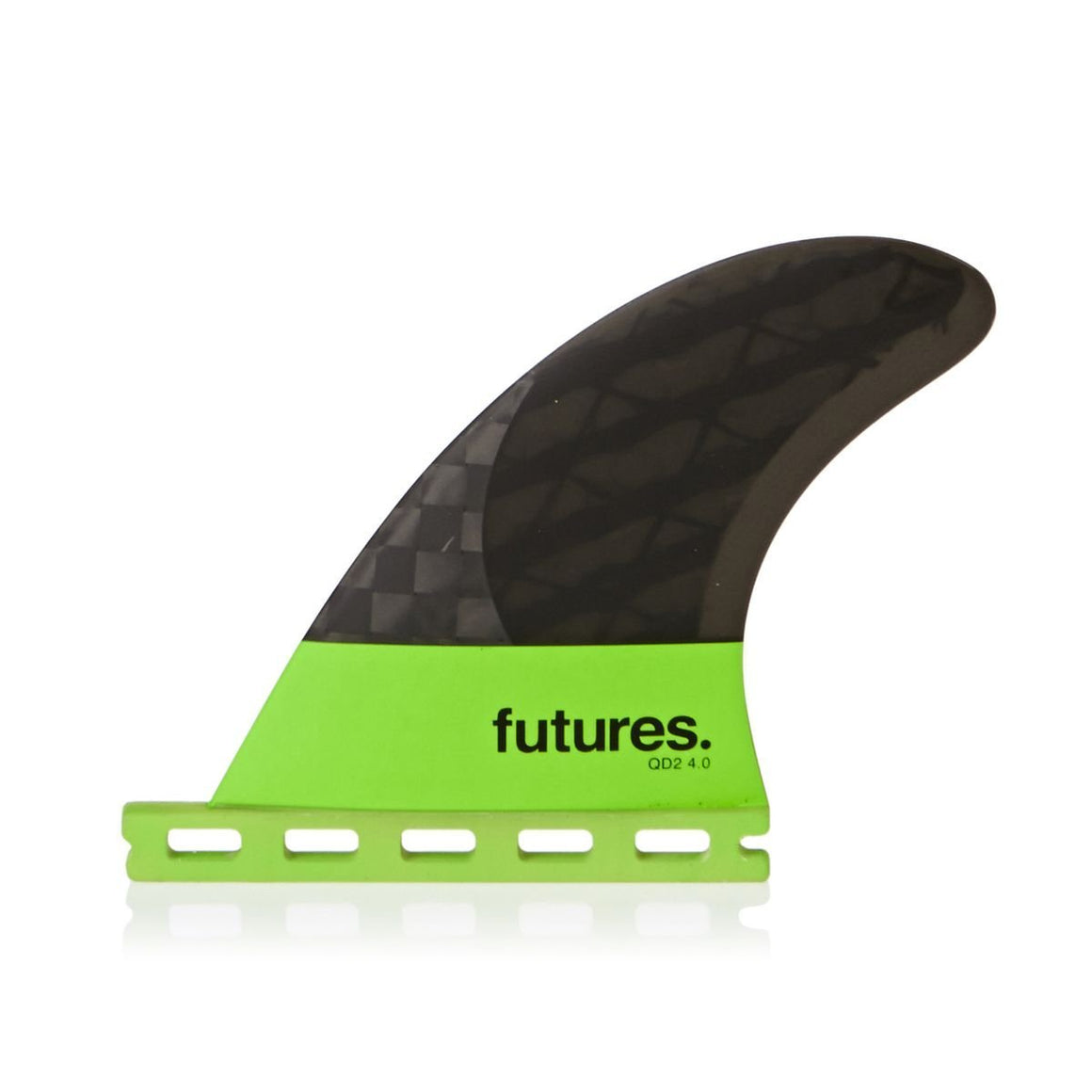 FUTURES QD2 4.0 QUAD Blackstix Rears Lime Smoke /Light Green band
