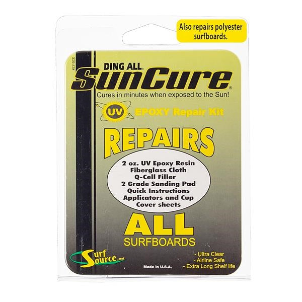 Ding Repair - Ding All Sun Cure Repairs ALL Epoxy kit.