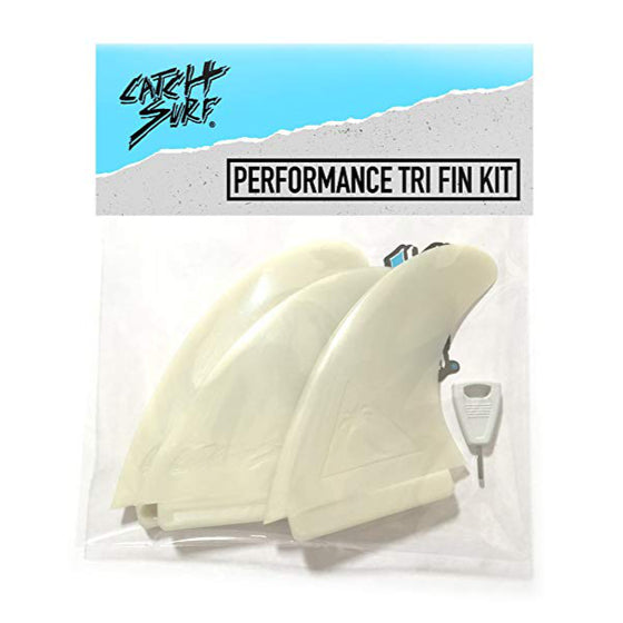 Catch Surf Fins - Hi-Perf Thruster Natural - Surf Ontario