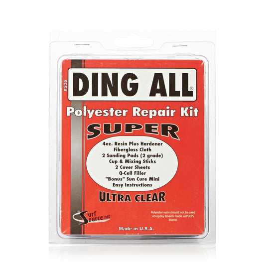 Ding Repair - Ding All Poly SUPER Kit