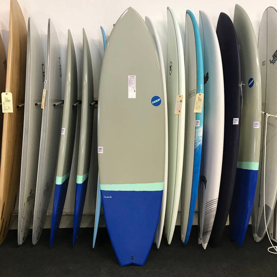 NSP 06 Elements HDT Fish 6'8 Grey
