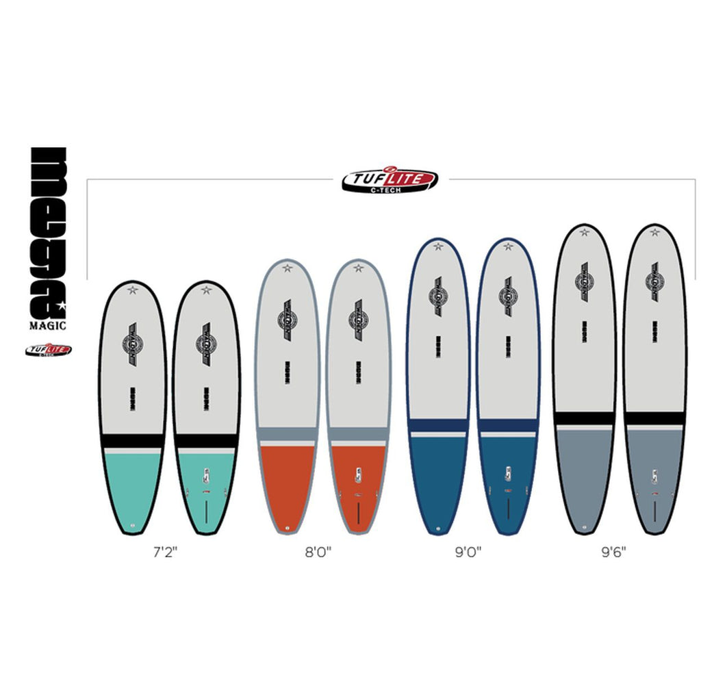 Walden 7'2 Mega Magic Tuflite