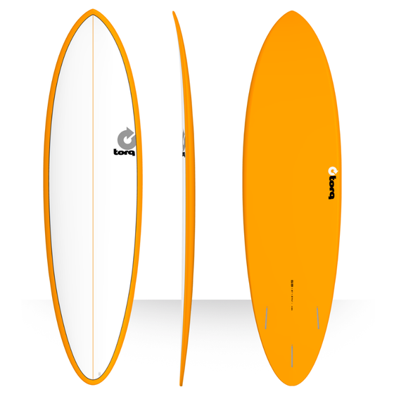 Torq 6'8 Fun Orange + Pinline