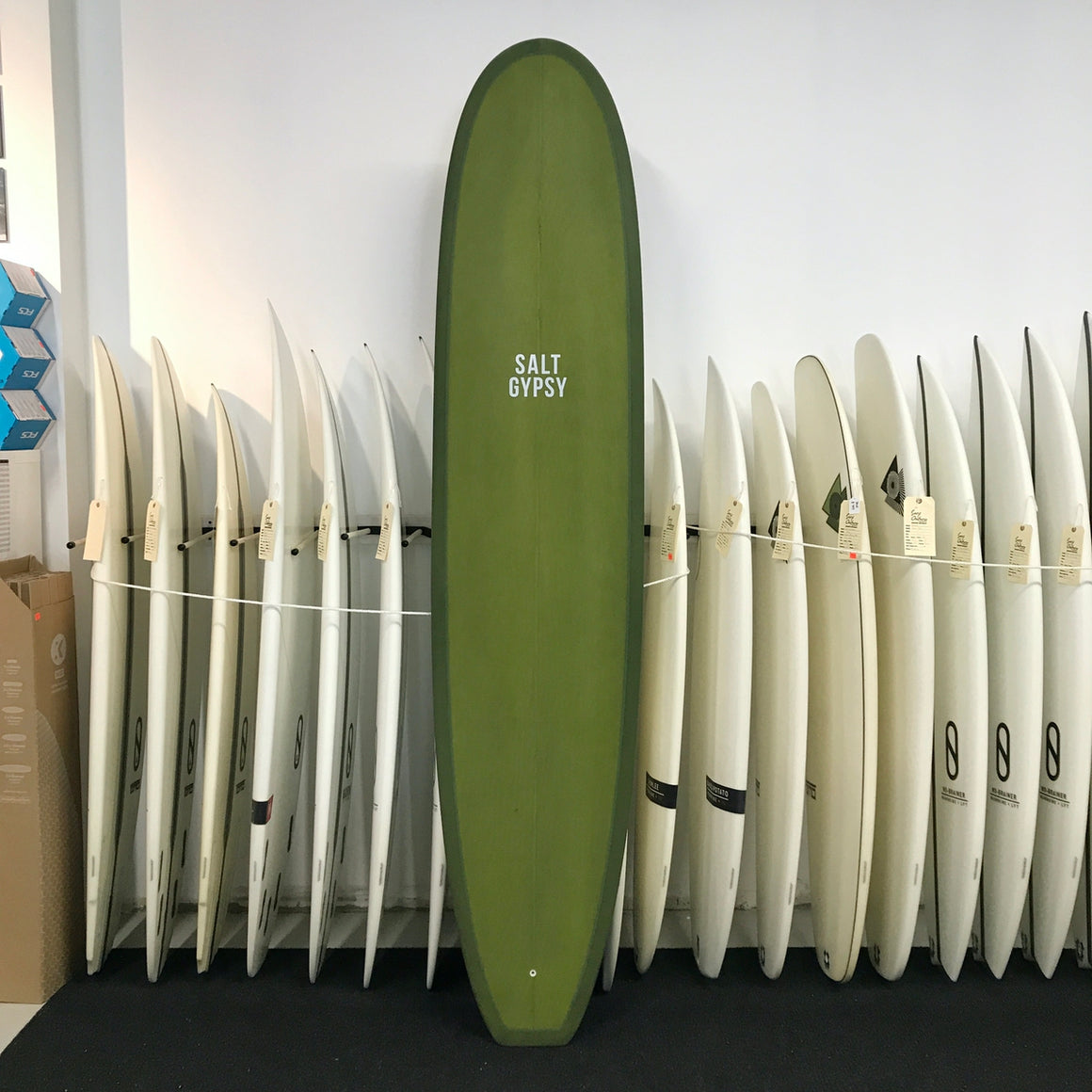 Salt Gypsy - 8'6 Dusty Retro Longboard Olive Tint