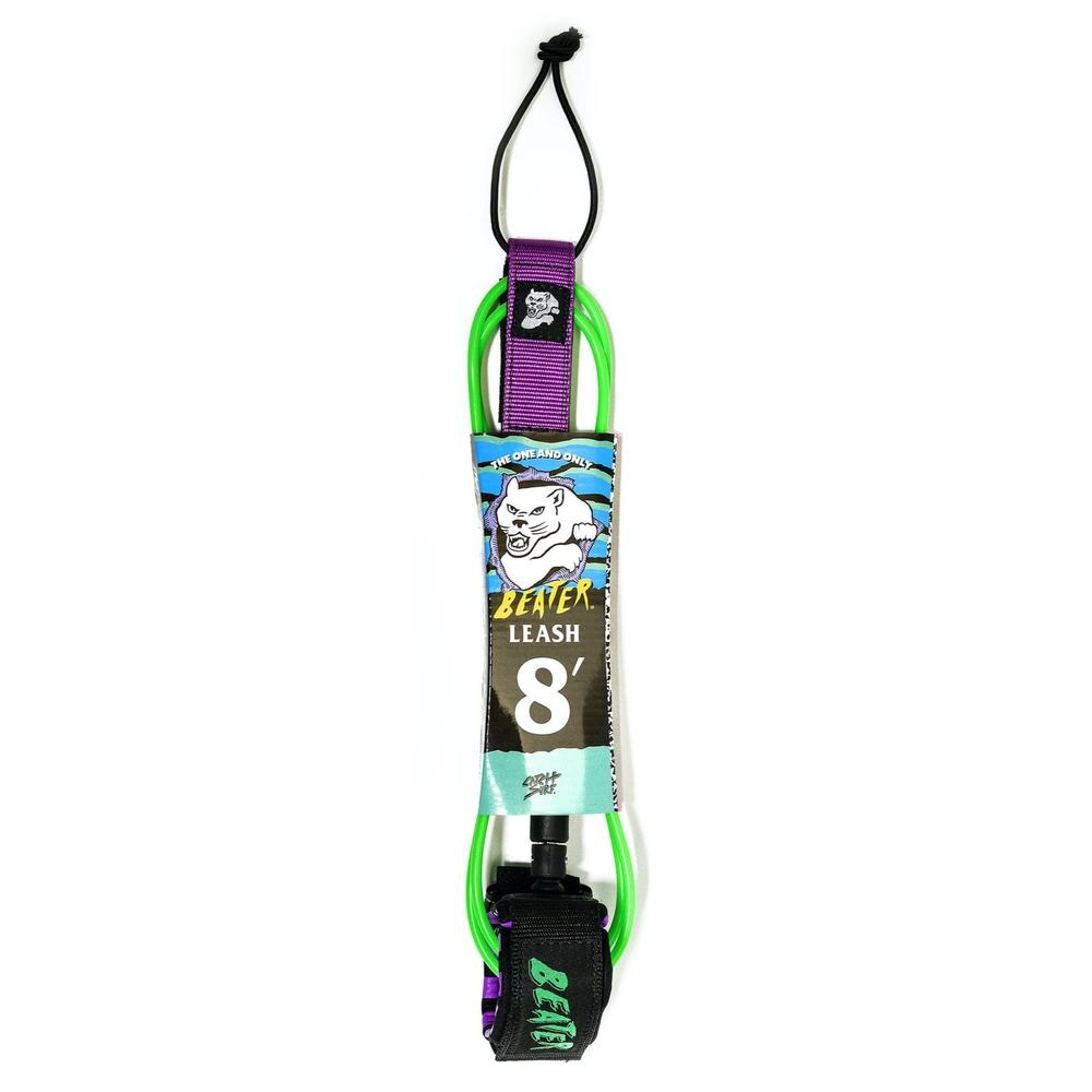 Leashes - Beater / Catch Surf - 8' Green/Purple